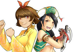 Josie and Talim by Dicex012