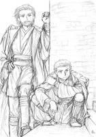 Master and his Padawan by TokisadaNava