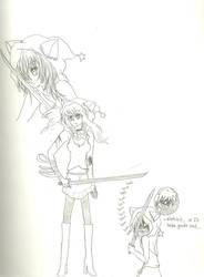 Kyoko Soul eater by KiyaSparleVampire
