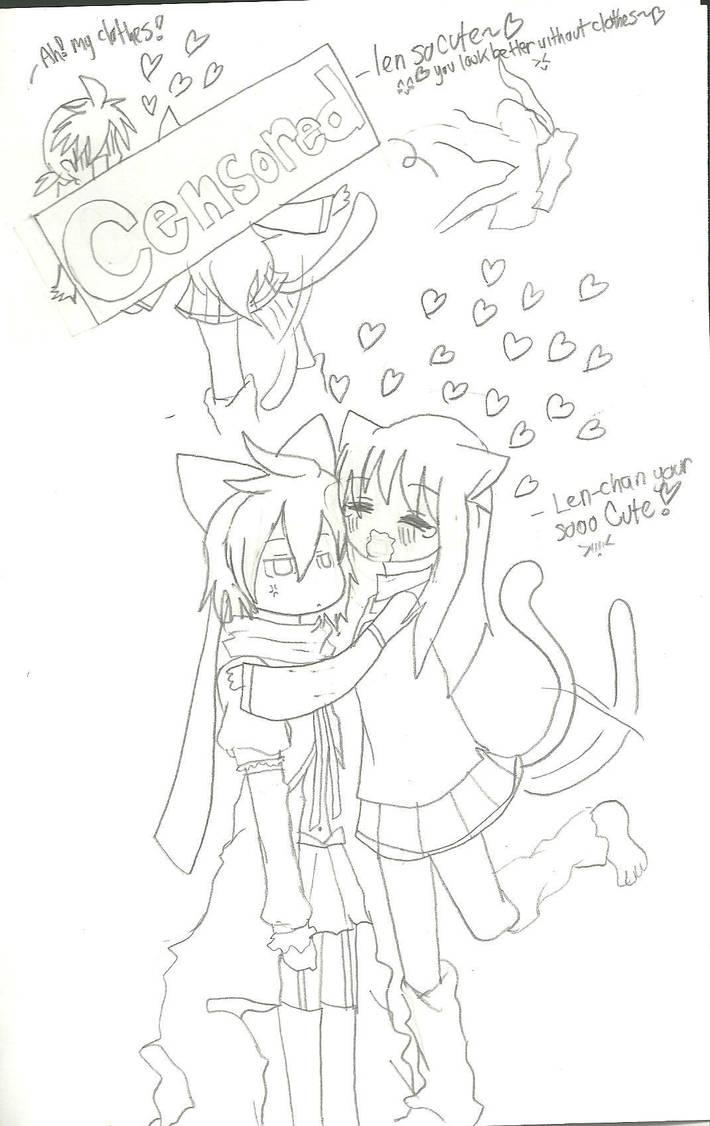 Mistuki loves Len by KiyaSparleVampire