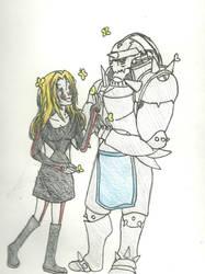 Mika and Alphonse by KiyaSparleVampire