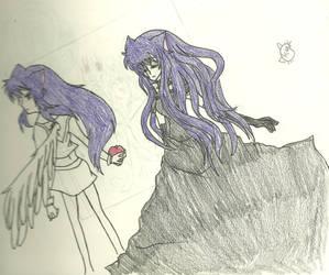 Kiya and Hikari's Vow by KiyaSparleVampire