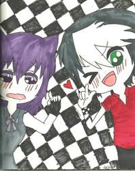 Mistuki and Shion picture by KiyaSparleVampire