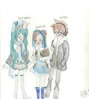 TinierMe and friends by KiyaSparleVampire