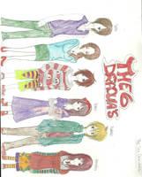 The Six Dracula's by KiyaSparleVampire