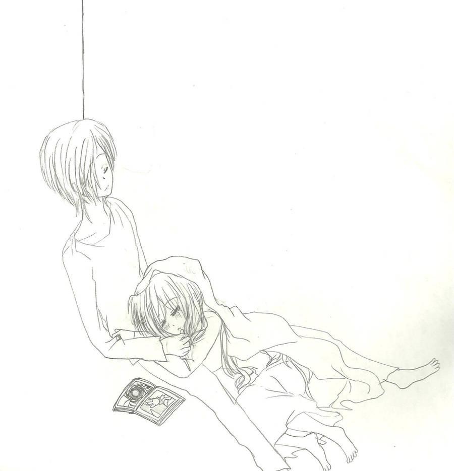 TSD Saito and Hanako by KiyaSparleVampire