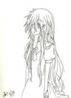 Anna Undertaker (Undertaker's lil'sister ) by KiyaSparleVampire