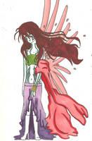 Demon Hunter Princess by KiyaSparleVampire