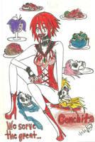 Hagane Meiko The Great Conchita by KiyaSparleVampire
