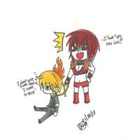 Meiko and Len bond by KiyaSparleVampire