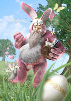 Easter Claus by Krakenkatz