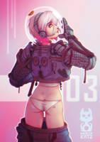Space Suit by Krakenkatz