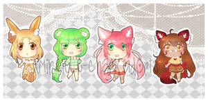[Original Species] Furutsunomimi adopts - CLOSED! by XMireille-chanX