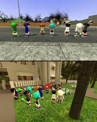 Splat Crew Reunion by mango3st
