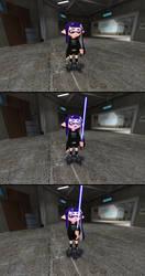 Umbra's Lightsaber by mango3st