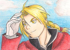 FMA ACEO::Edward by TheMuzbo