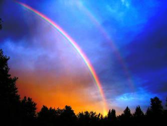 Double Rainbow by hackdaddy