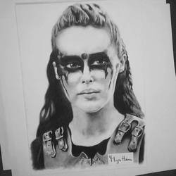 Lexa - charcoal 1 by MijaHinn