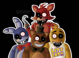 Five Nights At Freddy's by LovelyLaurenArts
