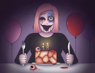 My Birthday by LovelyLaurenArts