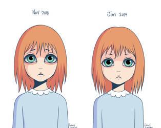 Art style update (Penelope) by LovelyLaurenArts