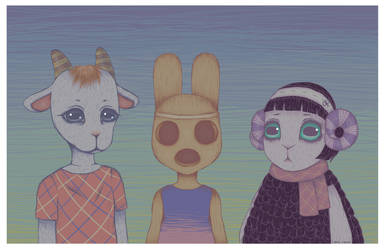 Animal Crossing by LovelyLaurenArts