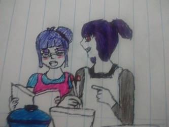Lily x Bonnie cozinhando by sayukaharuno