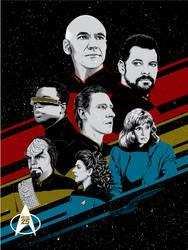 Star Trek: The Next Generation - 25th Anniversary by tracieching