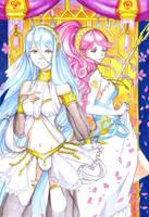 Azura and Olivia by kurobas
