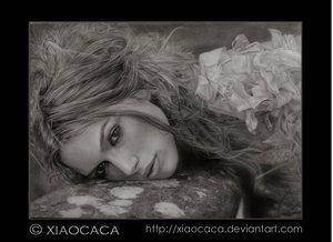 Vacancy by xiaocaca by PortraitPencilArt