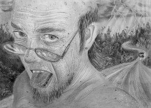 Old man.. by thematthewholland by PortraitPencilArt