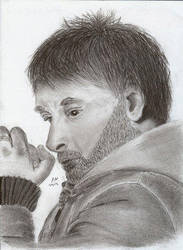 Thought by ColonelFitz by PortraitPencilArt