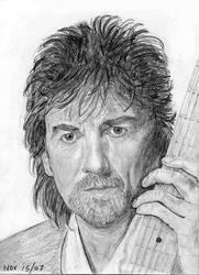 George Harrison by Itsmerick by PortraitPencilArt