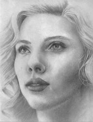 Scarlett.. by Zira670 by PortraitPencilArt