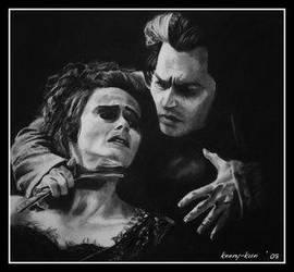 Sweeney Todd by Keeny-kun by PortraitPencilArt
