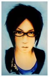 . Sakito Neo..by Devil1703 by PortraitPencilArt