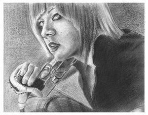 Bad Girl by Mindshitz by PortraitPencilArt