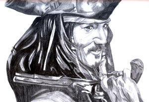Jack Sparrow by Plentyn by PortraitPencilArt
