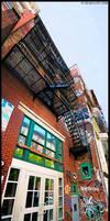NYC Street Panorama 1 by WinstonGFX