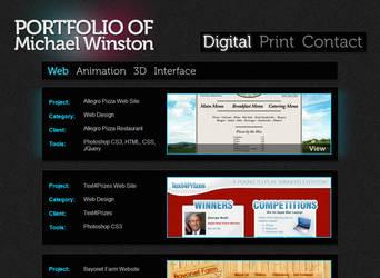 WinstonGFX.com Portfolio v4 by WinstonGFX