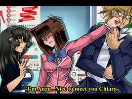 YGO_Nice to meet you Chiara by KiaSimo