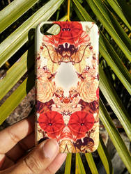 'Floret Symmetry' Floral iPhone Case by Zala02Creations