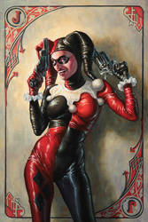 Harley Quinn by Michael-C-Hayes