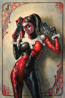 Harley Quinn by Michael-C-Hayes
