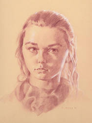 Arya Stark - Maisie Williams by Michael-C-Hayes