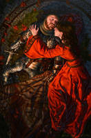 Death of Arthur by Michael-C-Hayes