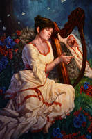 Lamentation by Michael-C-Hayes