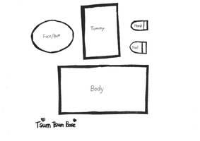 Tsum-tsum Base Pattern by GhostQueen1312