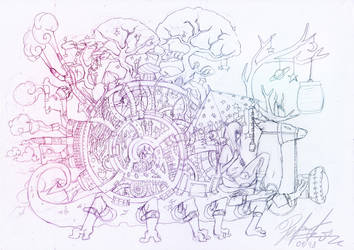Journey Redraw Sketch by Pertaret