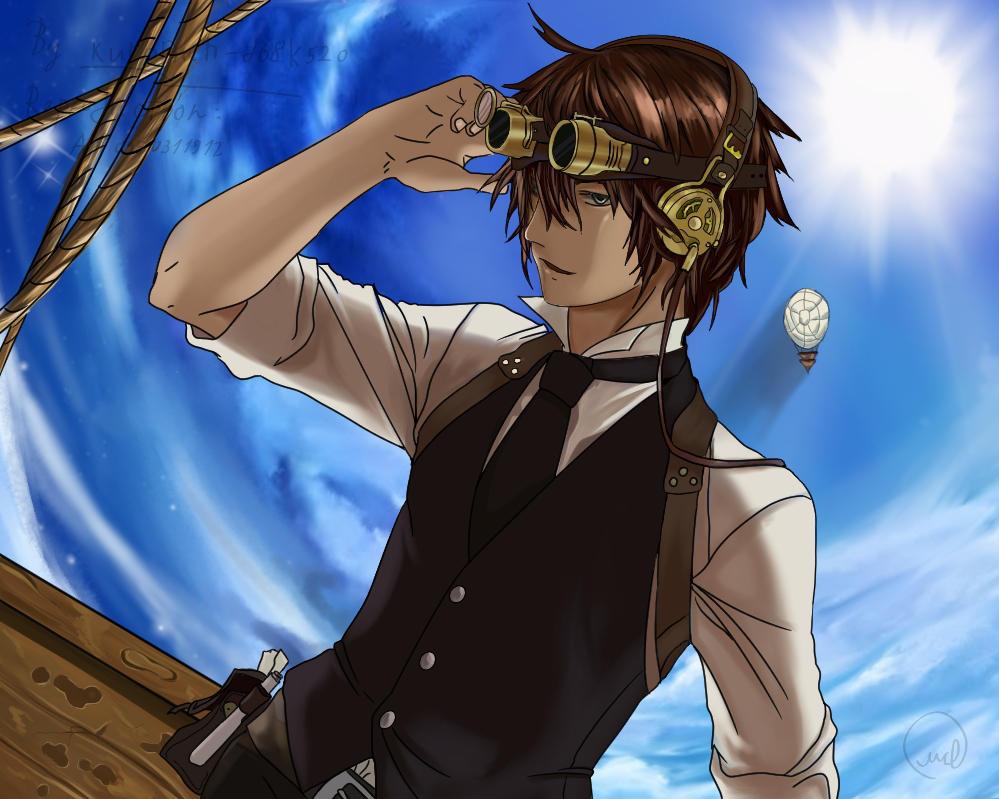 Anime Steampunk By Art0950311912 On Deviantart